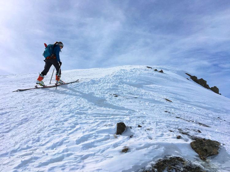 ski de randonnée conseils, Virée Verticale