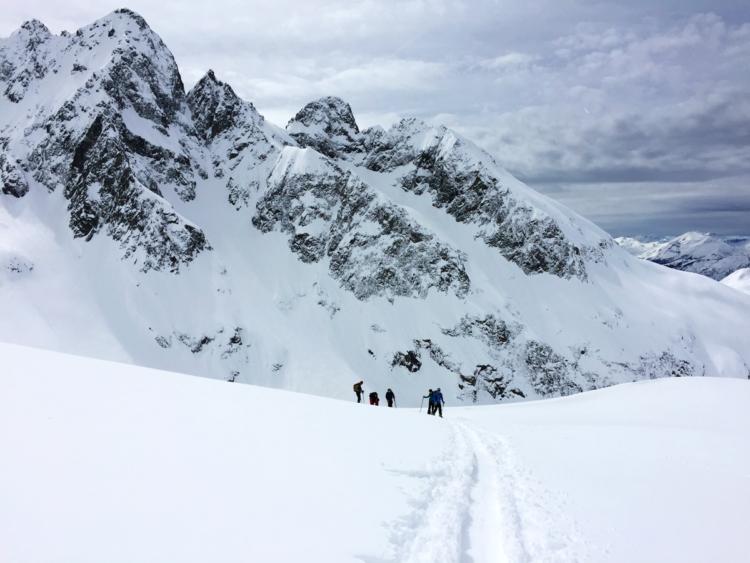 Traversée des Aiguilles Rouges à skis - Virée Verticale