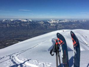 Skis Fischer et Chartreuse, Virée Verticale