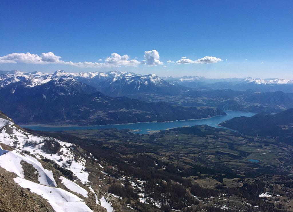 Lac de Serre-Ponçon, ski de randonnée dans le Champsaur, Virée Verticale