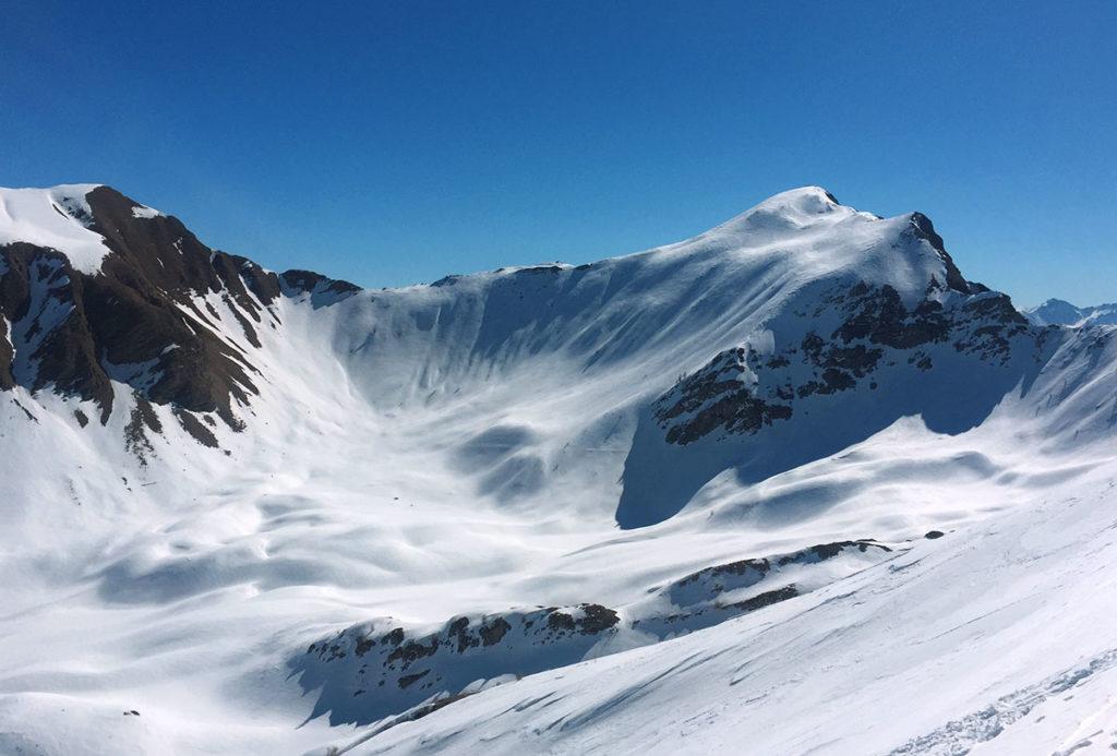 Ski de randonnée dans le Champsaur, Virée Verticale