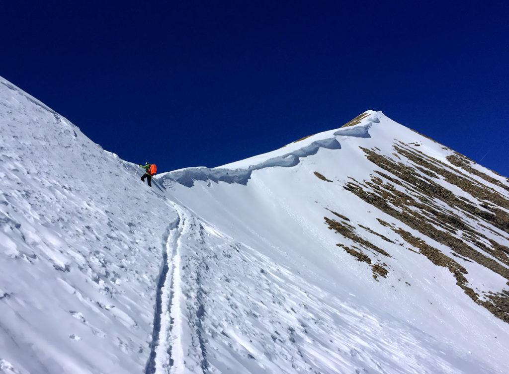 Pointe de Reyna pour un week-end ski de randonnée dans le Champsaur